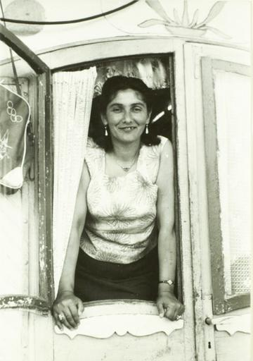 Margarete Kraus, a Czech Roma who was sent to Auschwitz.