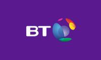 bt logo purple